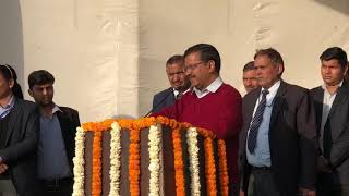 Delhi CM Arvind Kejriwal inaugurated development work in 25 unauthorised Colonies of Narela