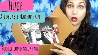 Affordable Makeup & Skin Care Haul | Purplle.com New Affordable Makeup