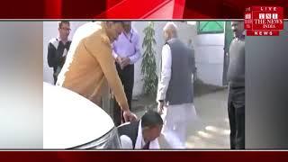 [ Bhopal ] मंत्री गोविंद सिंह के पैरों में गिरा फरियादी, इग्नोर कर बढ़ गए आगे / THE NEWS INDIA
