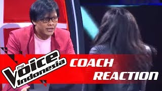 Ini Reaksi Ngerock Coach Armand Ketika Axl Tampil! | COACH REACTION | The Voice Indonesia GTV 2018