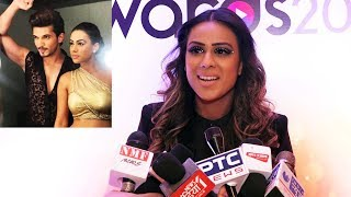 Ishq Mein Marjawan Fame Nia Sharma At Star Studded Talentrack Awards 2019