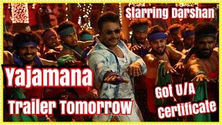 Yajamana Trailer Releasing In 24 Hours l Starring Darshan