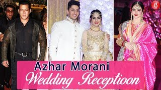 Azhar Morani & Tanya Seth Grand WEDDING Reception | Salman Khan, Rekha, Urvashi Rautela