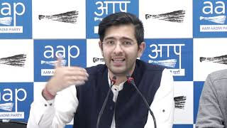 AAP Leader Raghav Chadha Briefs on Lakhs of Deleted Votes in Delhi Claimed by Delhi CEO