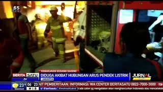 Gudang Pengolahan Daging Beku di Duren Sawit Terbakar