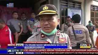 TNI-Polri Jaga Rumah Warga Korban Erupsi Karangetan