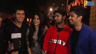 Anshuman Malhotra,Simran Sharma,Prit Kamani & Tushar Pandey Promoting HUM CHAAR In BCB Andheri