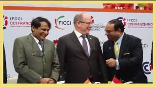 FICCI & Monaco Economic Board sign MoU to strengthen the trade & economic relations