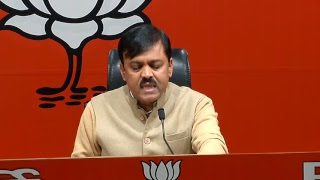 Byte by Shri GVL Narasimha Rao at BJP Head Office, New Delhi