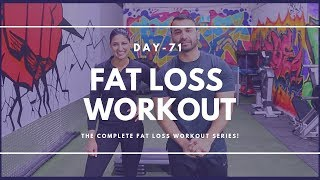 Home Fat Loss Workout! Day-71 (Hindi / Punjabi)