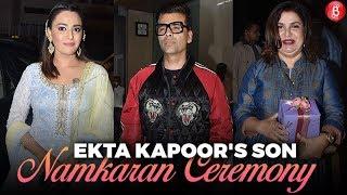 Ekta Kapoor's Son's Namkaran Ceremony   Karan Johar, Swara Bhasker, Farah Khan