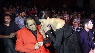 Sushmita Sen With Legendary Actor Manoj Kumar | Power Brand- Bollywood Film Journalist Award 2019