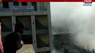 Vapi - Fire broke out in the godown of scrap