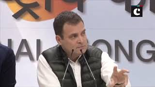 CAG report is worthless & I would term it as 'Chowkidar Auditor General Report', says Rahul Gandhi