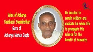 SS-3 Voice of Sheshadri Swaminathan maharaj Guru Of Mohan Gupta Part 2 Health Education by eating