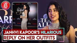 Janhvi Kapoor HILARIOUS Reply On Her Outfit At Filmfare Glamour And Style Awards