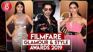 FILMFARE Glamour & Style Awards 2019 | Shahrukh Khan,Deepika Padukone,Shahid Kapoor
