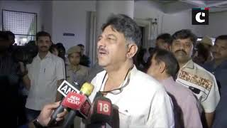 We've report that everyone is back, let's see their actions- DK Shivakumar