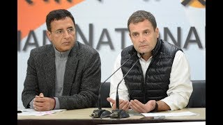 Congress President addresses media on Rafale Deal Scam
