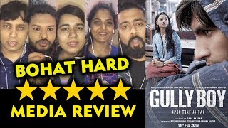 Gully Boy FIRST REVIEW | BOHOT HARD | Ranveer Singh, Alia Bhatt