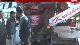 Prantij - An accident between luxury and truck