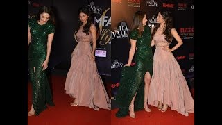 Ankita Lokhande, Mouni Roy Make the Most Gorgeous Gal Pals | Filmfare Glamour Style Awards 2019