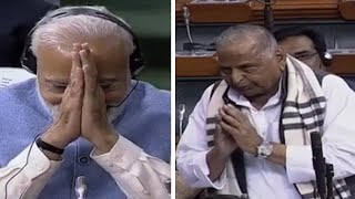 How PM Modi responded when Mulayam Singh Yadav blessed him for 2019 polls