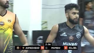 3BL Season 1 Round 2 (Aizawl) - Full Game - Day 1 - AHMEDABAD WINGERS vs MUMBAI HUSTLERS