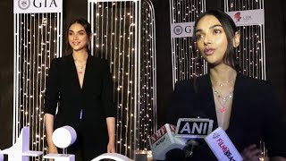 Aditi Rao Hydari Attend GJEPC 1st Artisan Awards In Jewellery With Year 2020