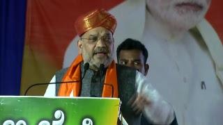Shri Amit Shah addresses Shakti Kendra Pramukh Samavesh in Sindhanur, Karnataka