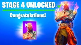 STAGE 4 KEY Location Found! How To UNLOCK STAGE 4 Snowfall Skin Fortnite Prisoner Skin Keys