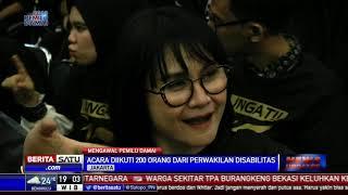 KPU Sosialisasi Pemilu 2019 untuk Pemilih Disabilitas