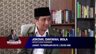 Special Interview With Claudius Boekan: Jokowi, Dakwah, Bola