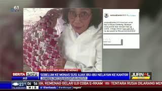 Menteri Susi Ajak Ibu-Ibu Nelayan Muara Gembong ke Monas