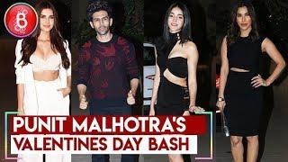 Punit Malhotra's Valentine Day Bash | Kartik Aaryan , Tara Sutaria , Ananya Pandey