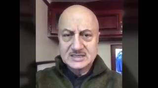 Anupam Kher ANGRY Reaction Pulwama Terrorist Attack