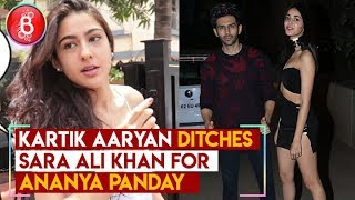 Kartik Aaryan DITCHES Sara Ali Khan For Ananya Panday On Valentine's Day