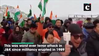 Pulwama terror attack: Ladakh Buddhist Association takes out candle light march