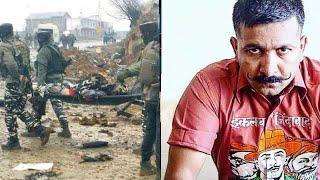 जम्मू कश्मीर के पुलवामा में जवानों पर आतंकी हमले पर भड़के कमांडो ट्रेनर शिफूजी भारद्वाज का जवाब