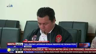Kubu Jokowi Laporkan Harian Indopos ke Dewan Pers
