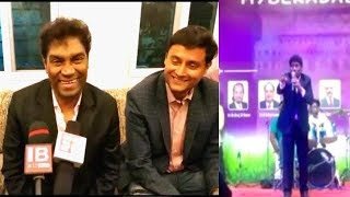 Johnny Lever In Hyderabad Exhibition   Speaks To Sach News On His Event  