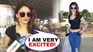 Urvashi Rautela Flying Of To London For Pagalpanti Movie Shooting