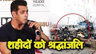 Salman Khan Reaction On PULWAMA Incident Will Melt Your Heart