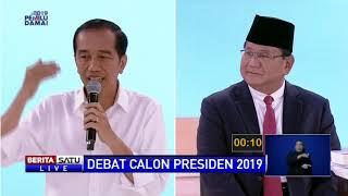 Prabowo Singgung Soal Impor, Jokowi: Untuk Menjaga Ketersediaan Stok