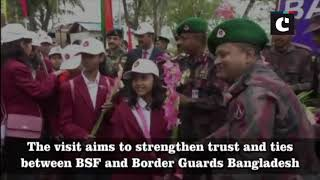 BSF children leave for Bangladesh visit to bolster ties with Border Guards Bangladesh