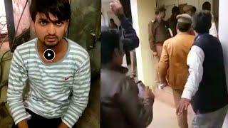 पुलवामा आतंकी हमले पर देशद्रही गतिविधि करने वाले रजब खान को पुलिस ने किया गिरफ्तार