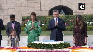 Argentina President receives ceremonial reception at Rashtrapati Bhavan