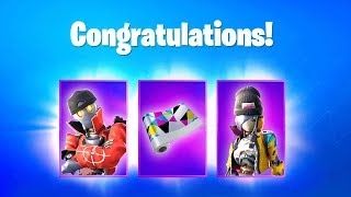 Fortnite FREE REWARDS, FREE SKINS (SEASON 8 EARTHQUAKE EVENT) Leaked Fortnite Skins & Emotes