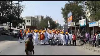 Gujjar News - खंडवा  गुर्जर समाज की शोभायात्रा में  देशक्ति का रंग, सैनिकों को दी श्रद्धांजलि