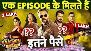 KHATRON KE KHILADI Season 9 Contestant's SALARY Per Episode   Vikas Gupta, Shamita, Bharti Singh etc